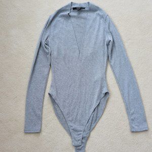 Brand New Forever 21 Long Sleeve Bodysuit (XS)